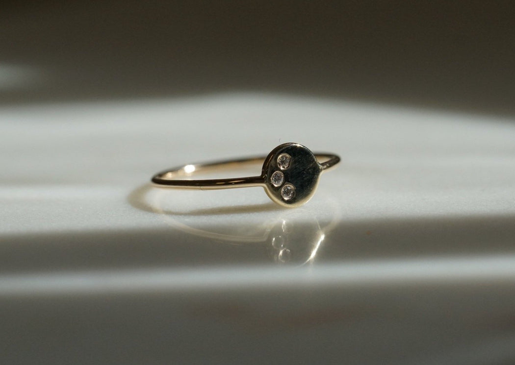 Snow Moon Ring