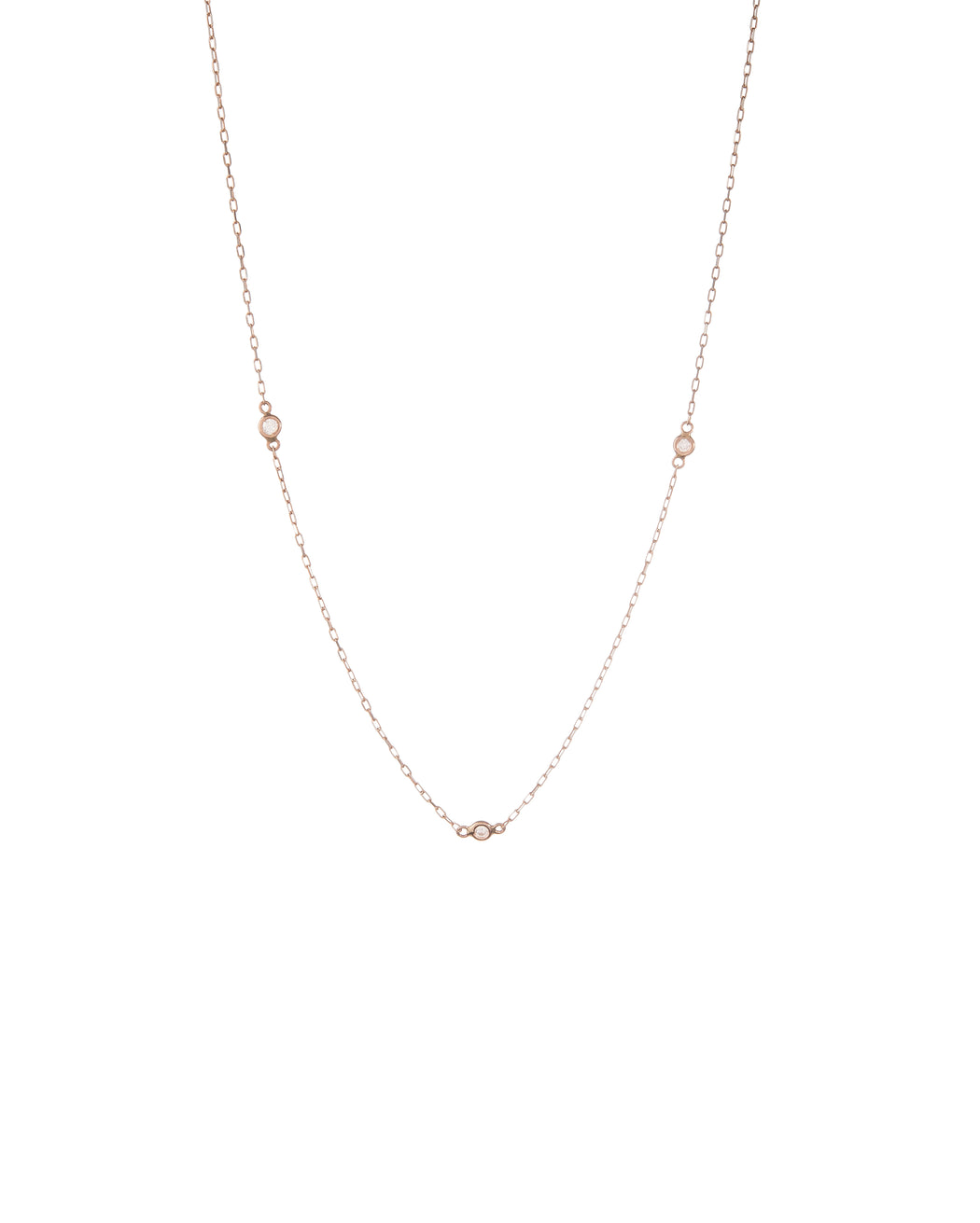 Space Diamond Necklace