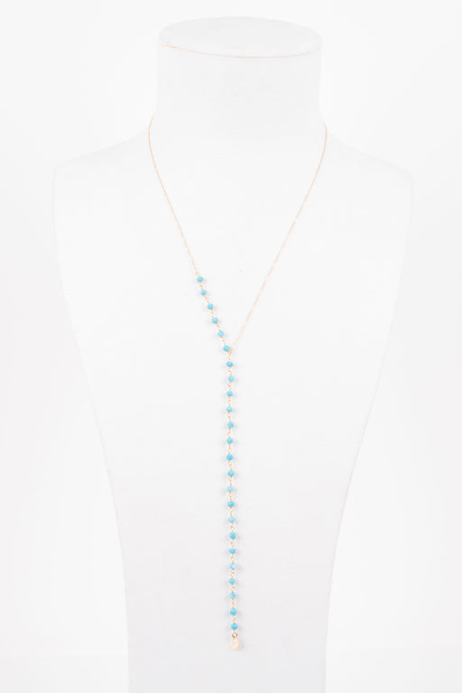 Eight by Gjenmi Turquoise Lariat