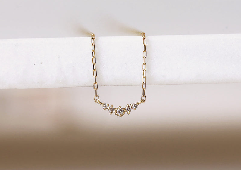 Ballerina Diamond Necklace