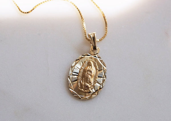 Guadalupe Charm Necklace