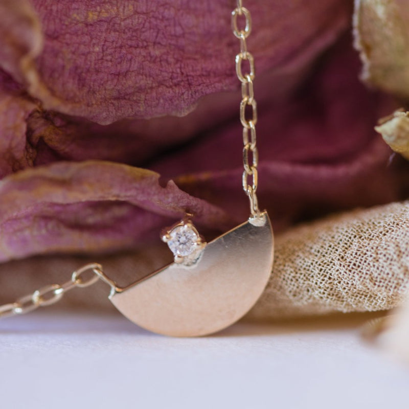 Half Moon Necklace | Ready To Ship