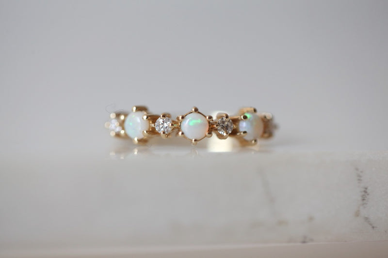 Orbit Opal Ring