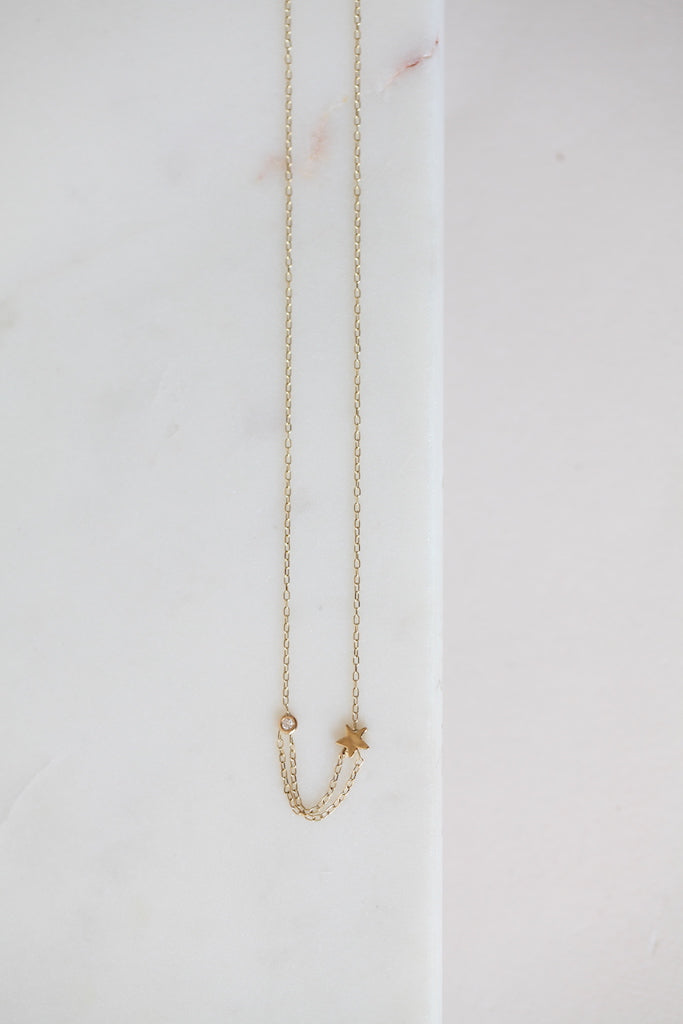 Shooting Star Necklace