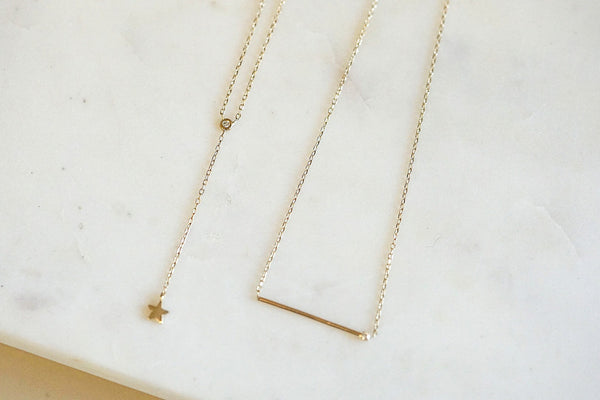 Matchstick Necklace | Ready To Ship