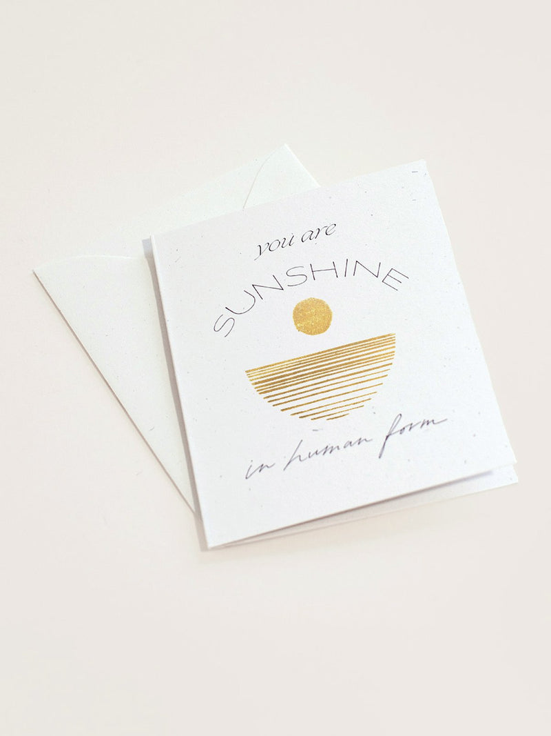 You Are Sunshine Card