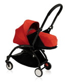 YOYO+ Convertible Stroller 0- 5 Years, Black Frame Red