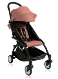 YOYO+ Junior Stroller 6 months to 5 years, Black Frame Beige