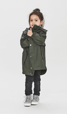 Raincoat Coast Green
