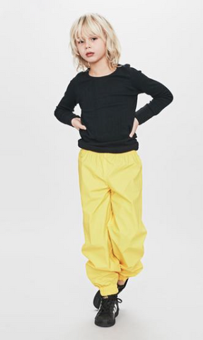 Waterproof Ocean Pants Yellow
