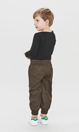 Waterproof Ocean Pants Brown