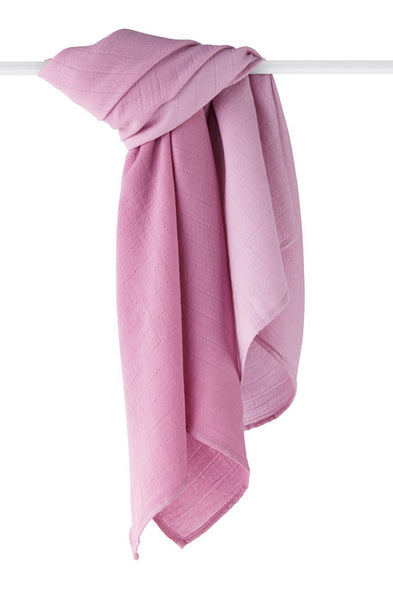 Merino Wool Muslin Swaddle Blanket Sunset
