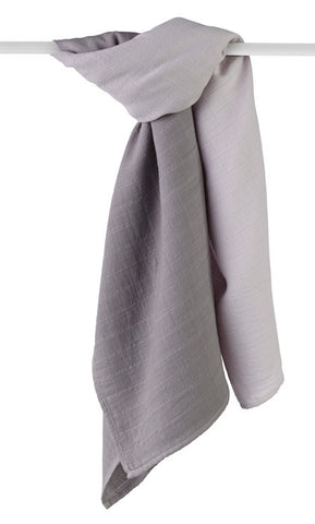 Merino Wool Muslin Swaddle Blanket Horizon