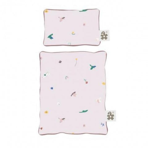 Sebra Doll's bed linen, Singing Birds