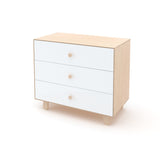 Merlin 3-drawer dresser Sparrow base