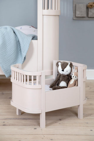 Sebra Dolls Bed Dusty Pink