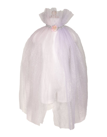 Light Pink Unicorn Mesh Cape