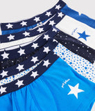 Boys' Starry Boxer Shorts - 5-Piece Set