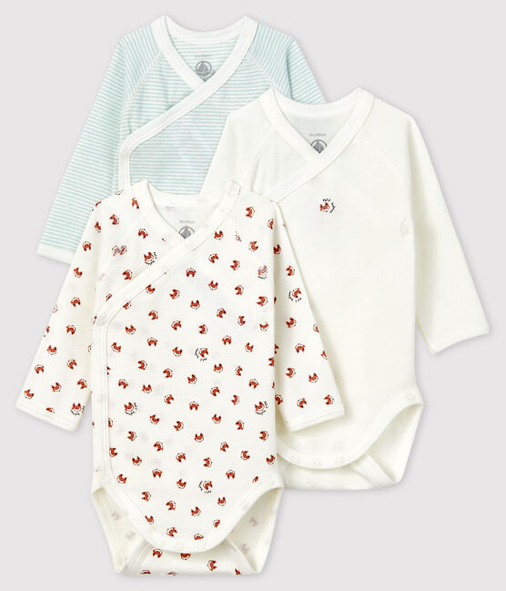 Newborn Long-Sleeved Bodysuit - 3-Piece Set