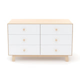 Merlin 6-drawer dresser Sparrow base