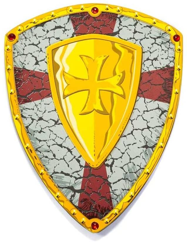 Eva Crusader Printed Knight Shield