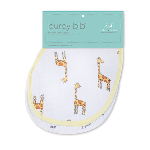 Classic Burpy Bibs Jungle jam 2-pack