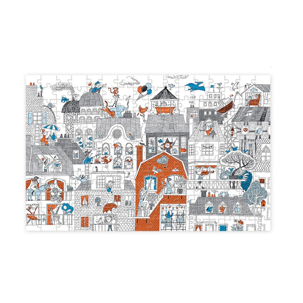 Puzzle 209 pcs - In the city