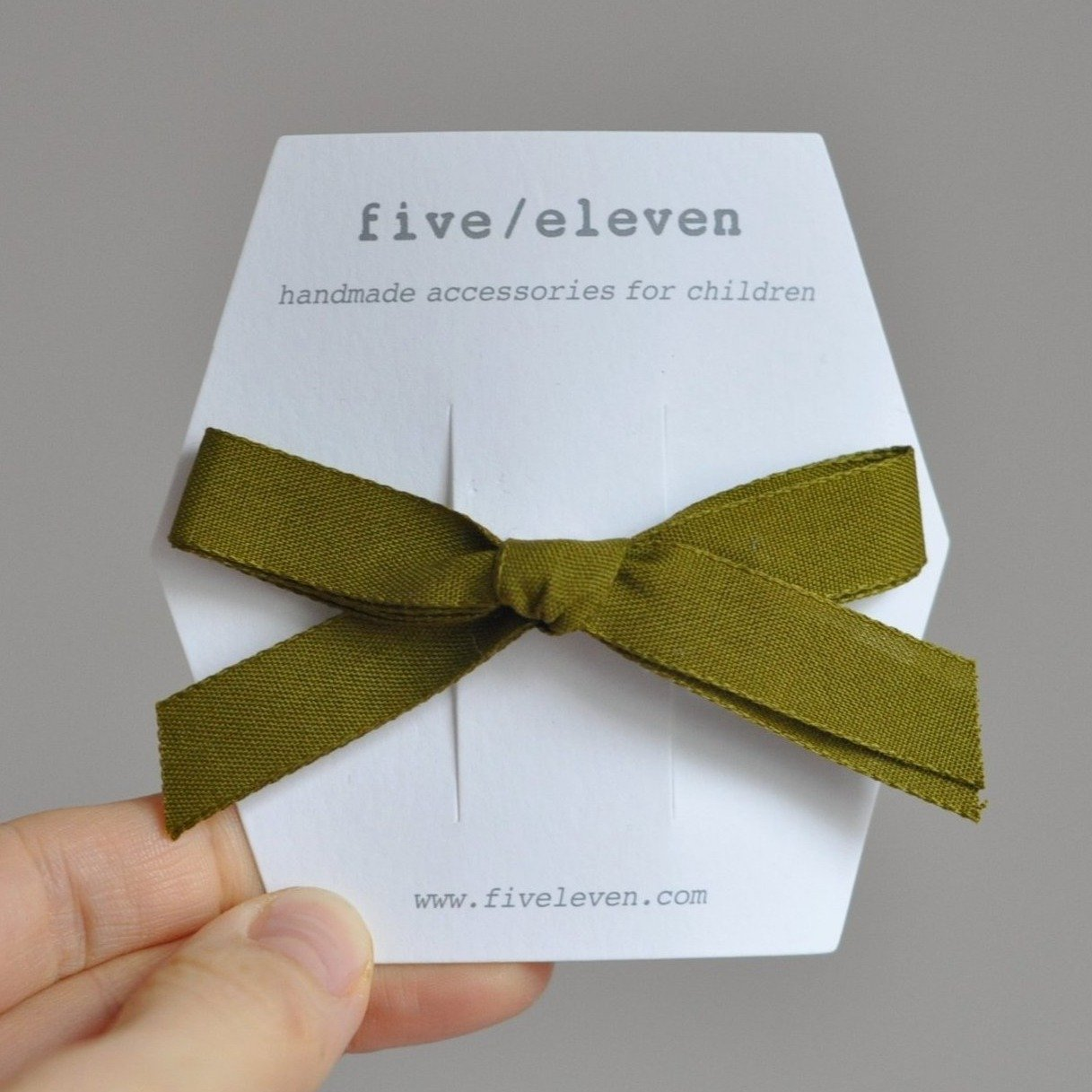 Single bows - Olive