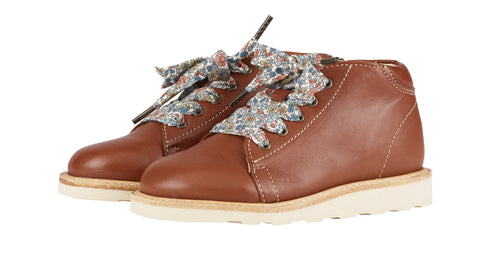 Hattie Monkey Boot Chestnut brown