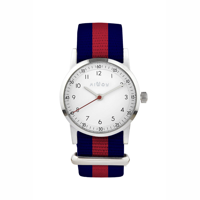 Classique Red Stripe Watch