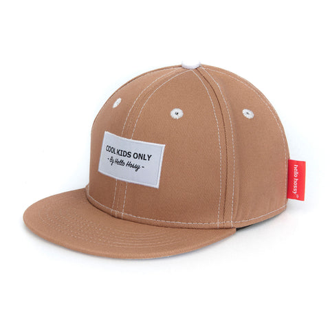 Mini Brown Cap