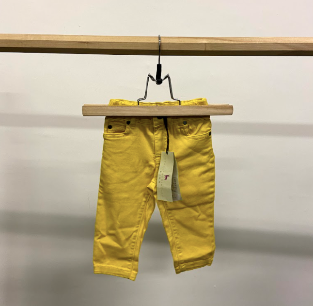 Stella Mc Cartney Yellow Jeans