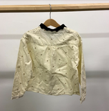 Cream with stars blouse