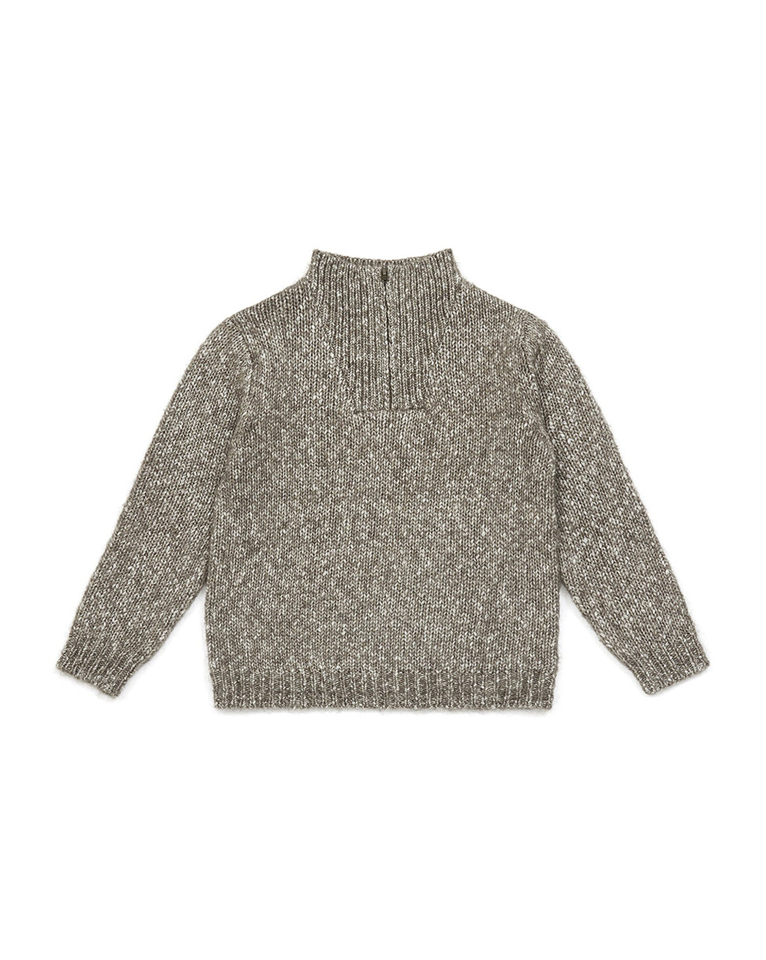 Boy High-Neck Sweater