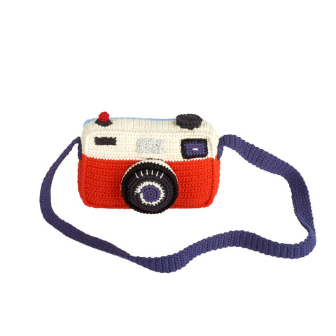 Camera Knitted