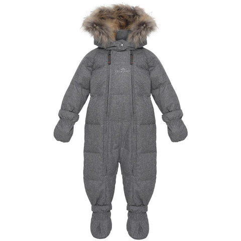 Wool Look Down Baby Wintersuit