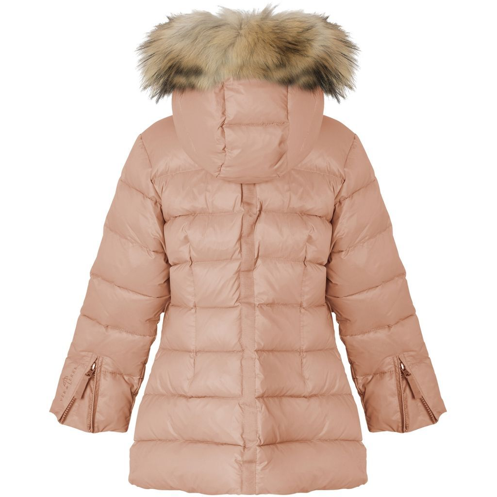 Featherlight Girls Fur Coat