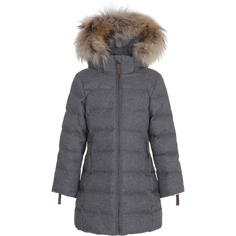 Wool Look Girls Coat