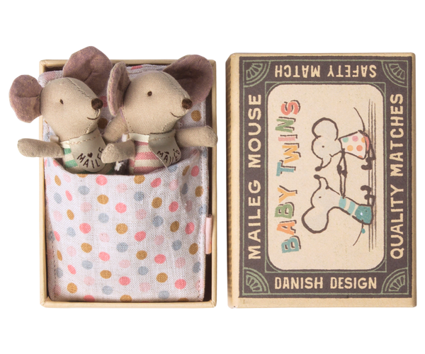 MOUSE, BABY TWINS IN BOX
