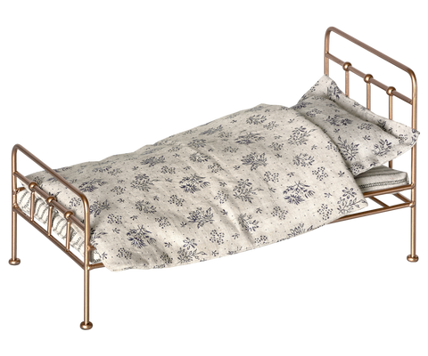 GOLD VINTAGE BED, MINI