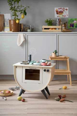 Sebra Play Kitchen White