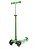 Micro - Mini Deluxe LED Scooter - Green