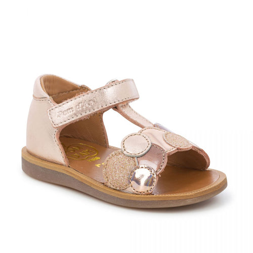 Poppy Bubble Copper Gold Sandals