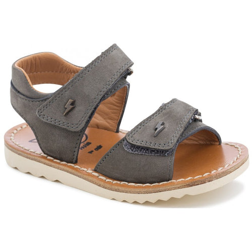 Waff Easy Nubuck Grey Sandals