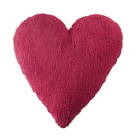 Heart Fuchsia Pillow