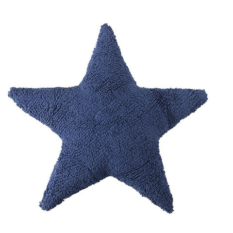 Star Navy Pillow