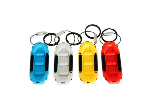 Whitewater Raft Keychain