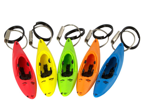 White water kayak paddle keychain accessories gift