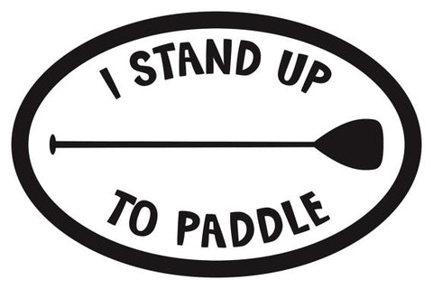 I Stand UP sticker