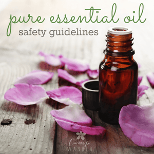Pure Essential Oil Safety Guidelines